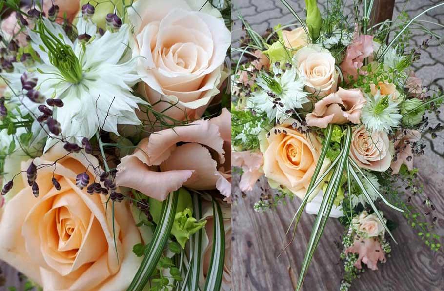 Hochzeitsfloristik 1 - Blumen und Gestaltung