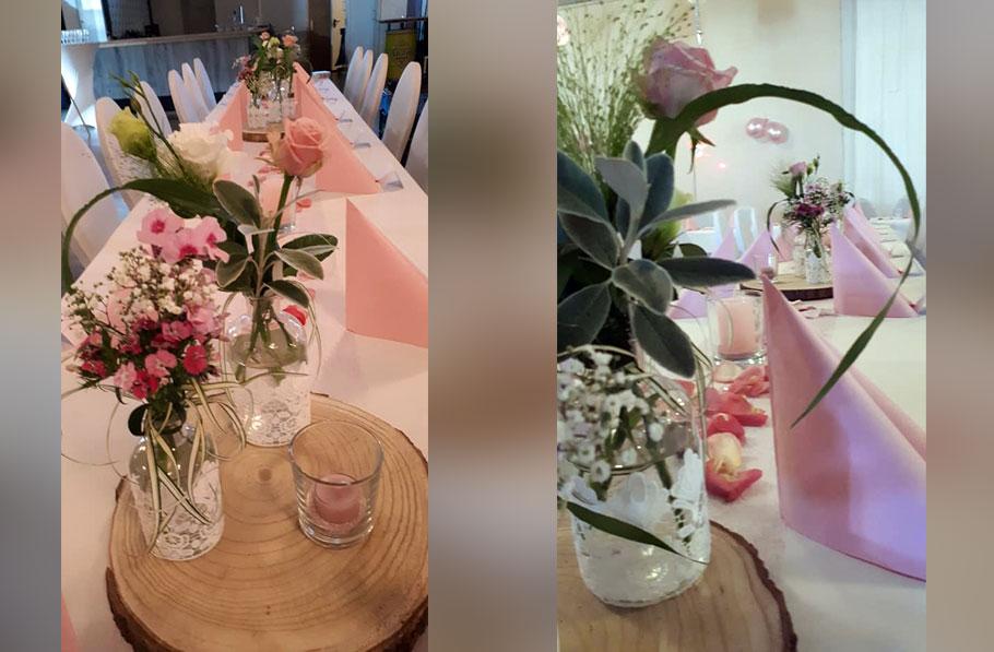 Hochzeitsfloristik 5 - Blumen und Gestaltung