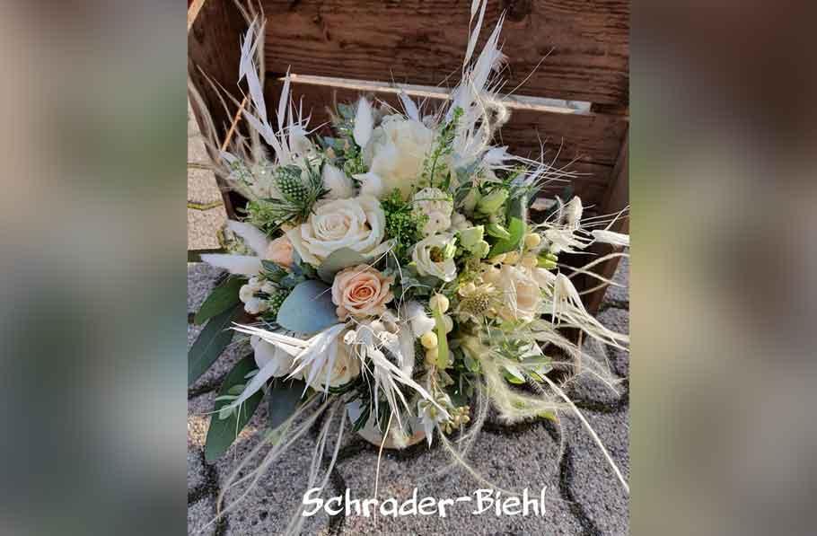 Hochzeitsfloristik 2020 2 - Blumen und Gestaltung